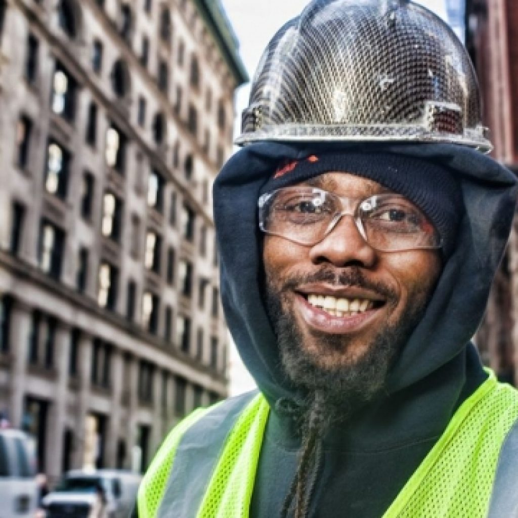 Hardhats of New York City: Leland Bobbé photographs the remarkable people who build the Big Apple