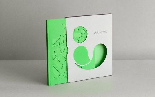 Portfolio book of Ideia Urbana, designed by Carlos Bauer.